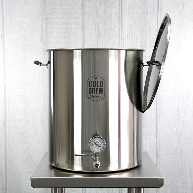 Deluxe Commercial Cold Brew Coffee Maker W Filter 30 Gallon