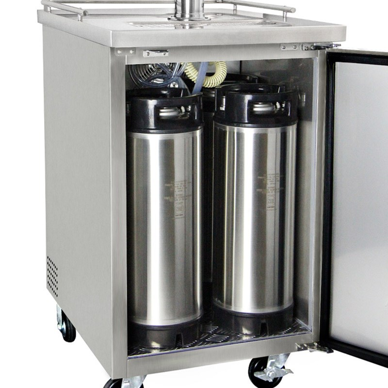 Nitro Coffee Stainless Kegerator Single Tap Etl S