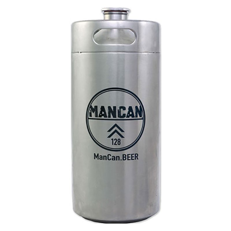 Mancan Stainless Steel Growler Mini Keg 128 Oz