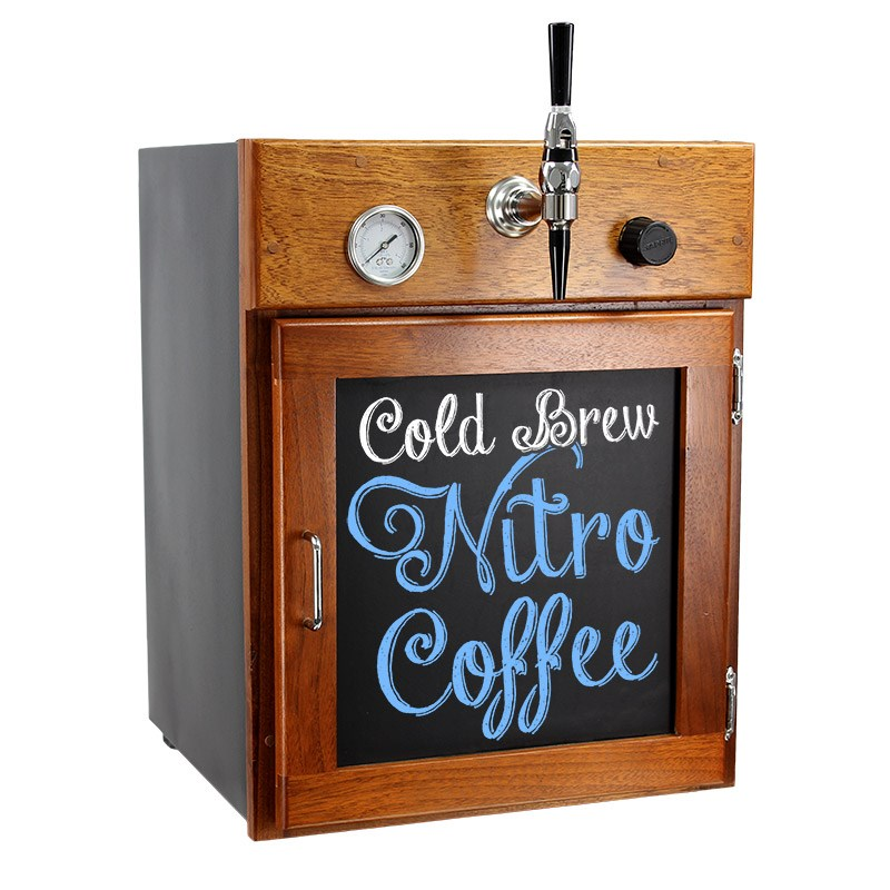 All In One Countertop Nitro Coffee Fridge Amp Serving Station
