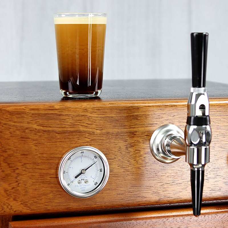 All-In-One Countertop Nitro Coffee Fridge & Serving Station