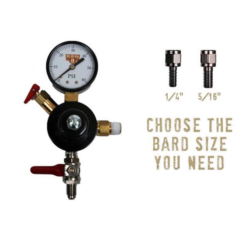 CO2 Regulator - Add A Body Chudnow - Right Handed Thread