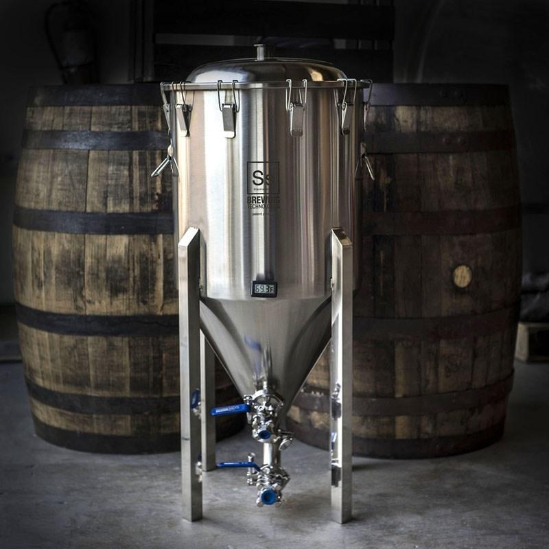 Ss Brewtech 1 2 Barrel Chronical Conical Fermenter
