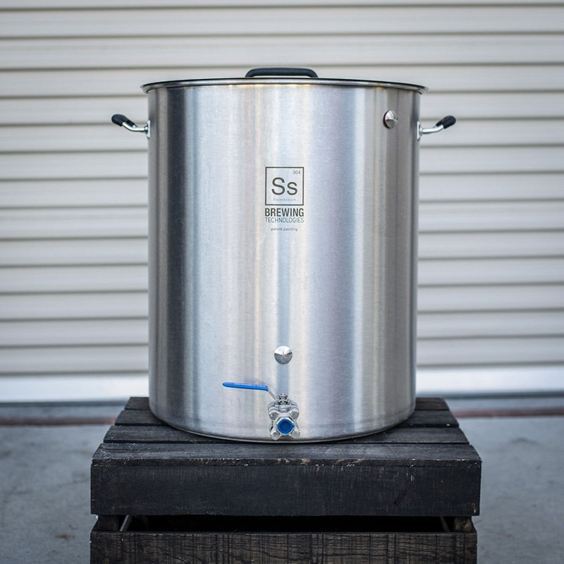 Ss Brew Kettle 30 Gallon By Ss Brewing Technologies