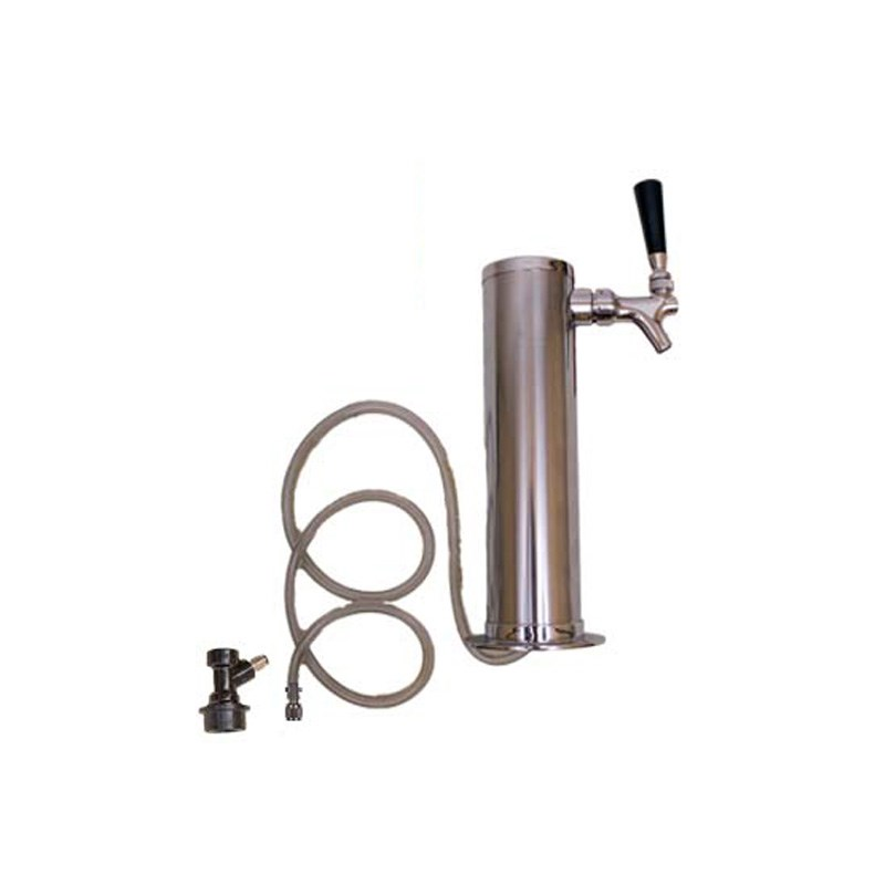 Stainless Steel Beer Tower 1 Faucet 3 Quot Tower